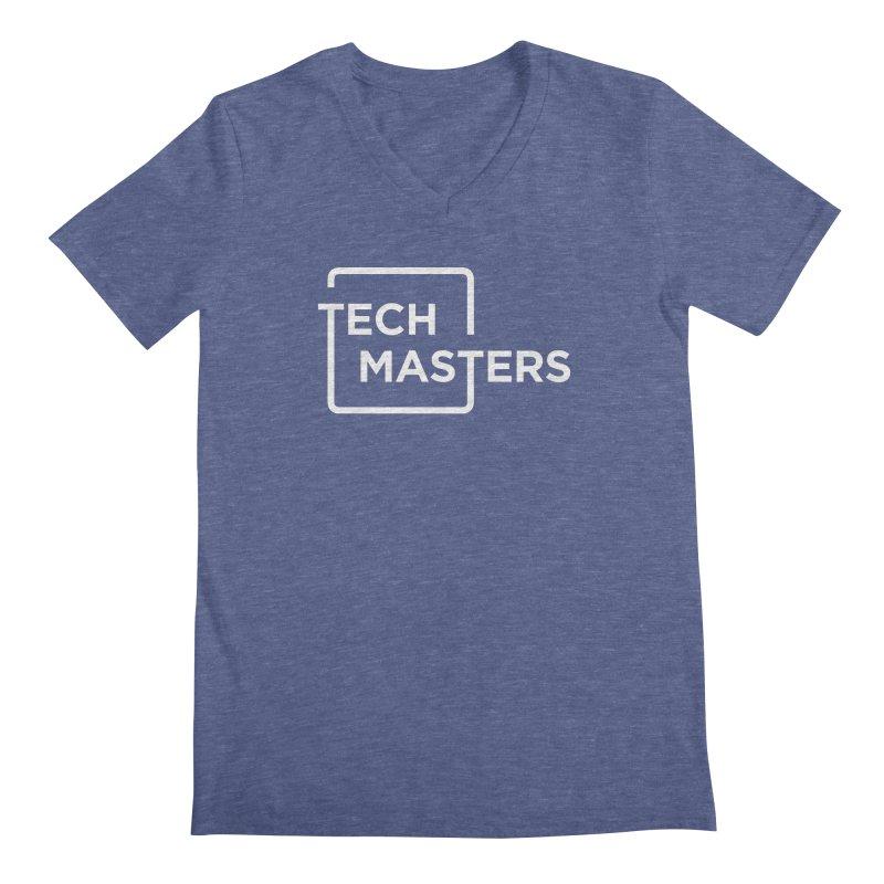 Tech Masters Logo Men's Regular V-Neck by TechMasters Swag Shop