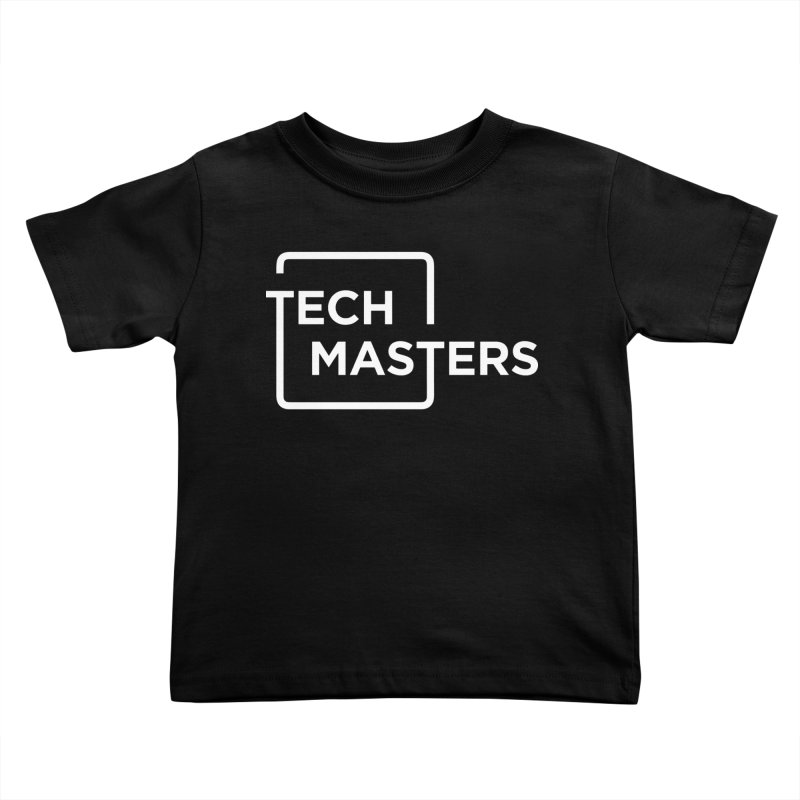Tech Masters Logo Kids Toddler T-Shirt by TechMasters Swag Shop