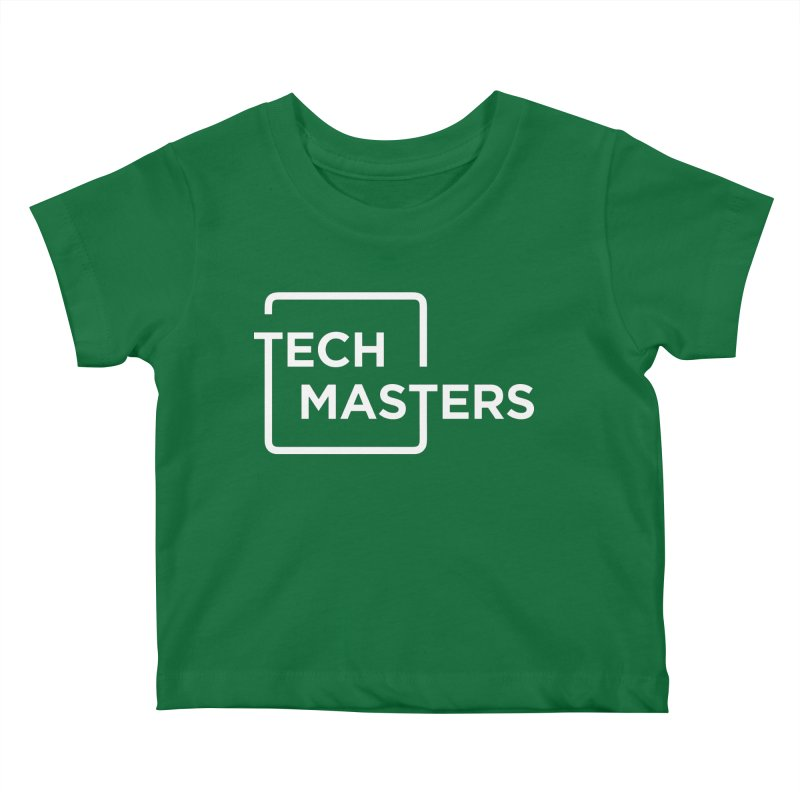Tech Masters Logo Kids Baby T-Shirt by TechMasters Swag Shop