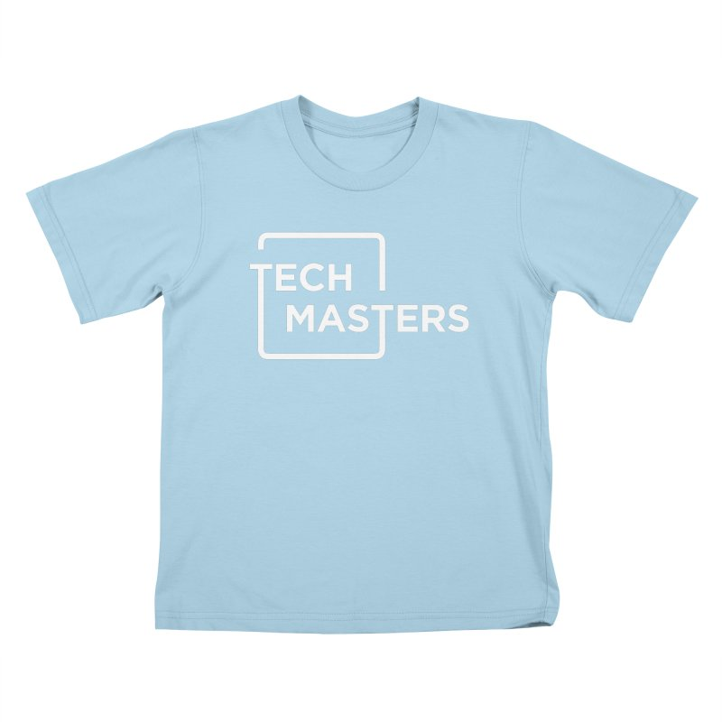 Tech Masters Logo Kids T-Shirt by TechMasters Swag Shop