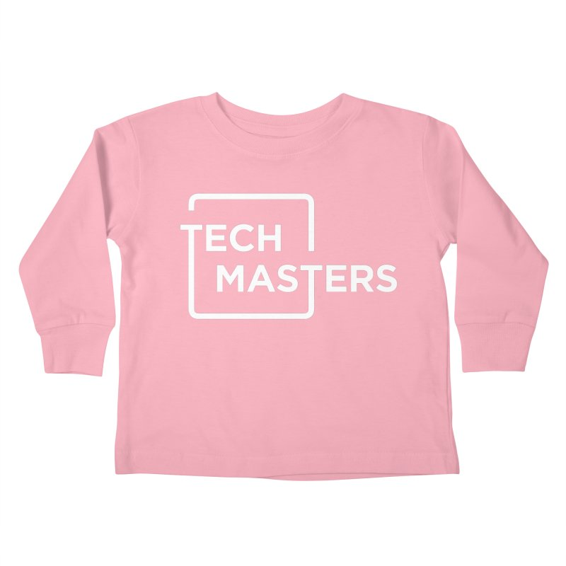 Tech Masters Logo Kids Toddler Longsleeve T-Shirt by TechMasters Swag Shop