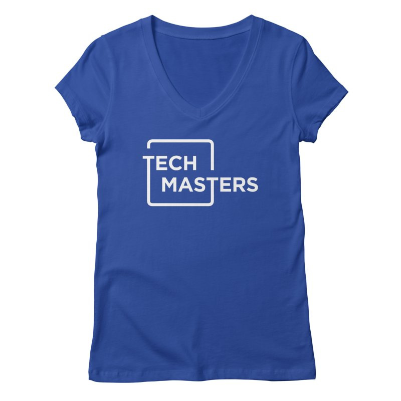 Tech Masters Logo Women's Regular V-Neck by TechMasters Swag Shop