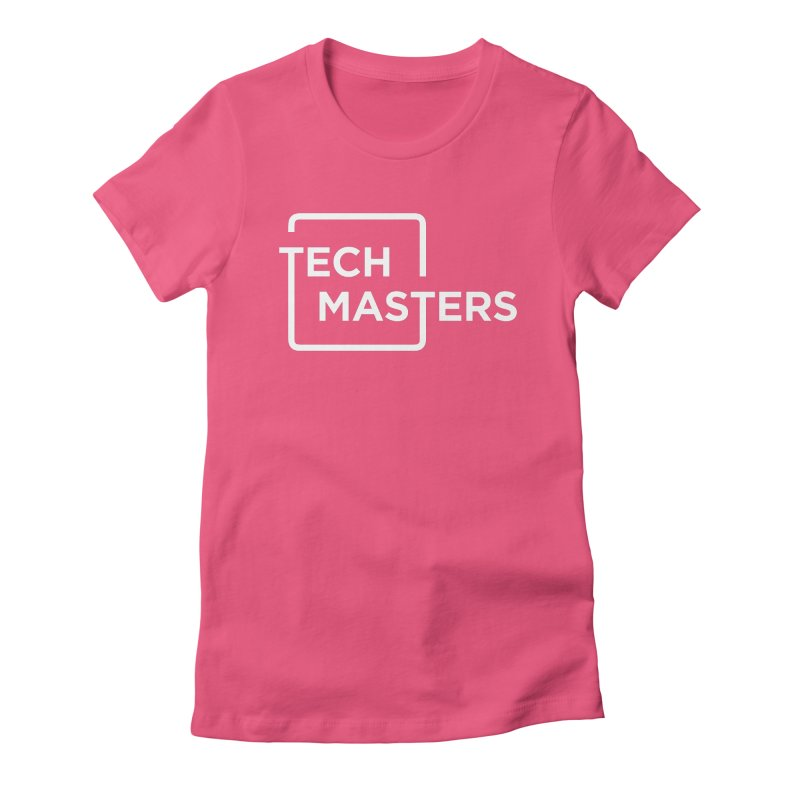 Tech Masters Logo Women's Fitted T-Shirt by TechMasters Swag Shop