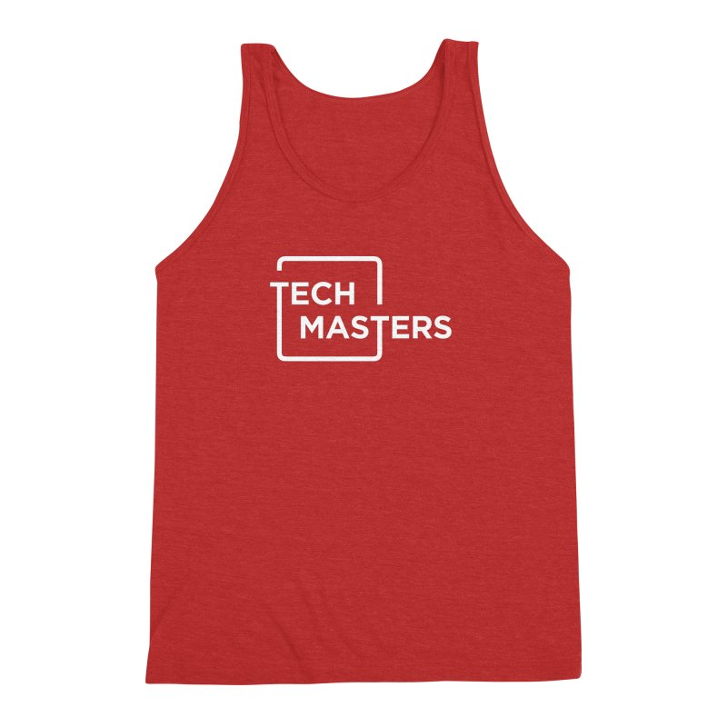 Tech Masters Logo Men's Triblend Tank by TechMasters Swag Shop