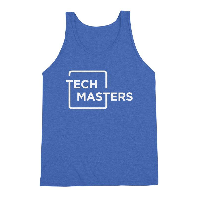 Tech Masters Logo Men's Triblend Tank by TechMasters Swag Shop