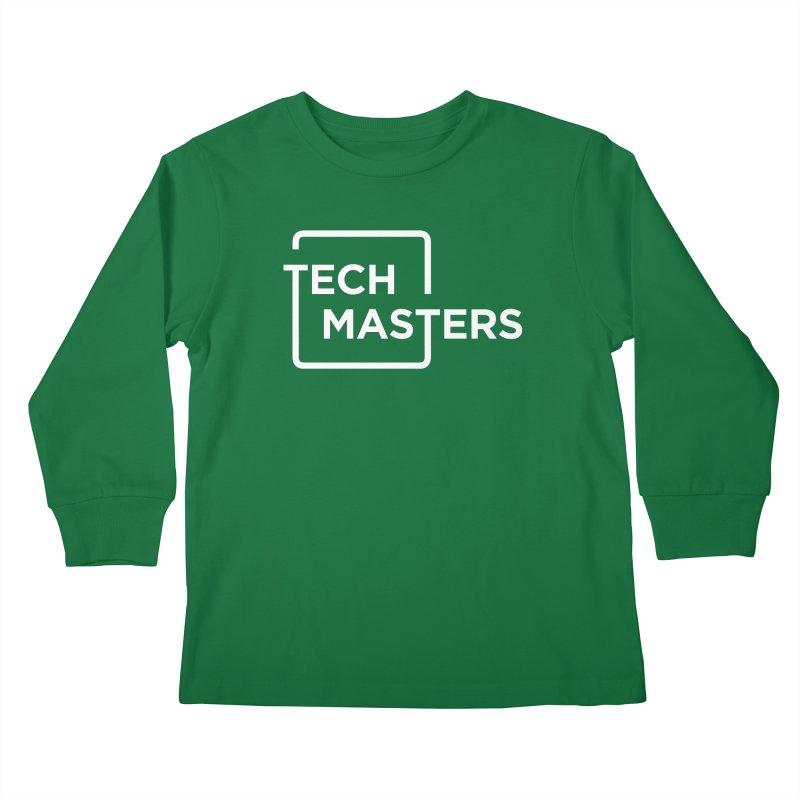 Tech Masters Logo Kids Longsleeve T-Shirt by TechMasters Swag Shop