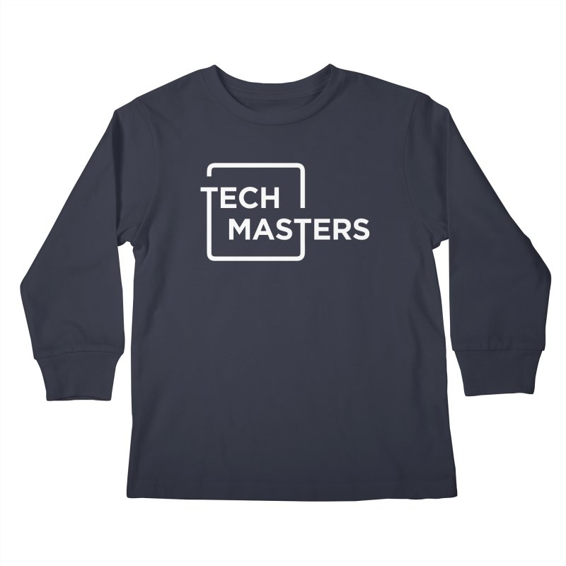 Tech Masters Logo Kids Longsleeve T-Shirt by TechMasters Swag Shop