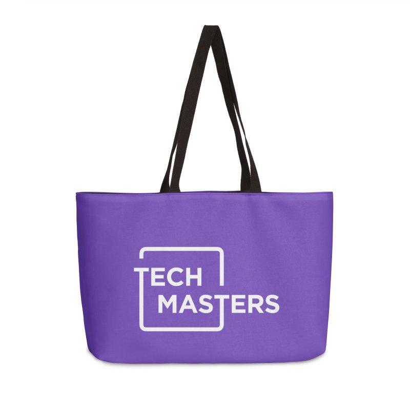 Tech Masters Logo Accessories Weekender Bag Bag by TechMasters Swag Shop