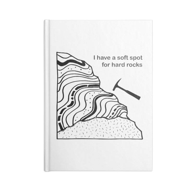 Soft spot for hard rocks Accessories Notebook by Tectonic City