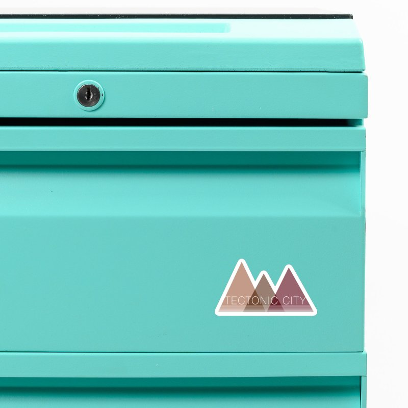 Tectonic City - three peaks Accessories Magnet by Tectonic City