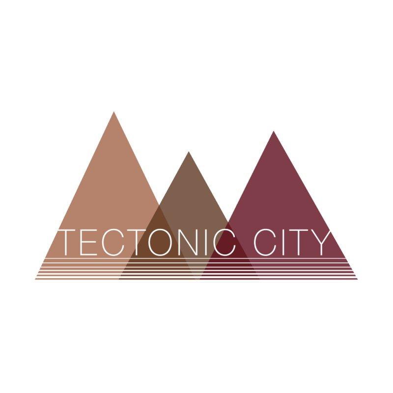 Tectonic City - three peaks Women's V-Neck by Tectonic City