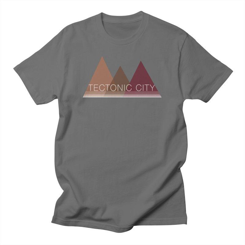 Tectonic City - three peaks Men's T-Shirt by Tectonic City