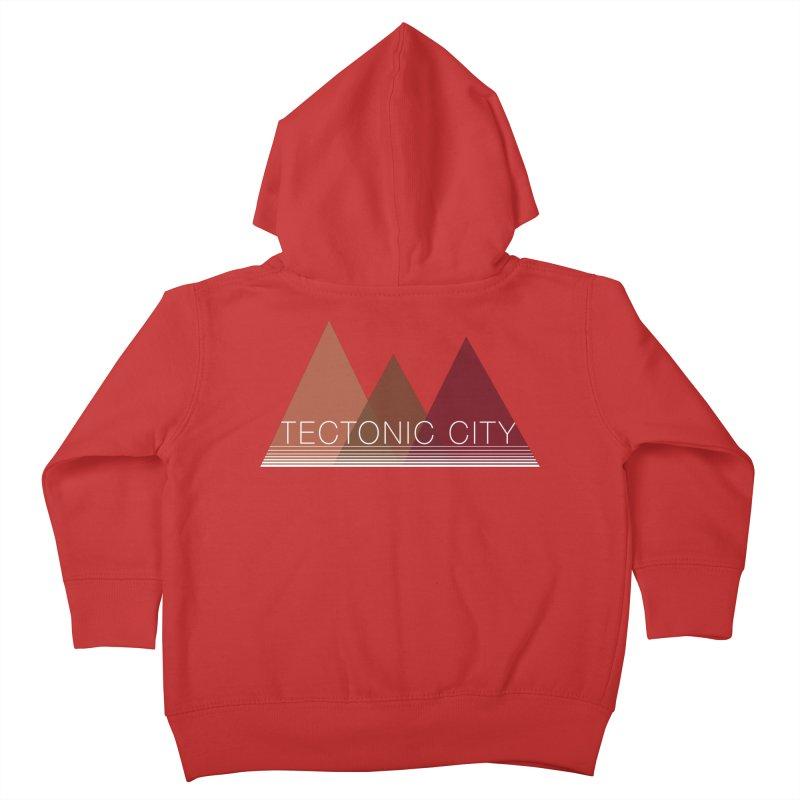 Tectonic City - three peaks Kids Toddler Zip-Up Hoody by Tectonic City