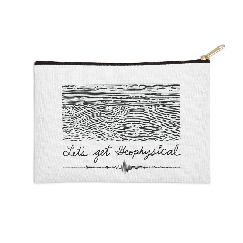Let's Get Geophysical Accessories Zip Pouch by Tectonic City