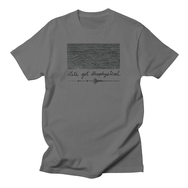 Let's Get Geophysical Men's T-Shirt by Tectonic City