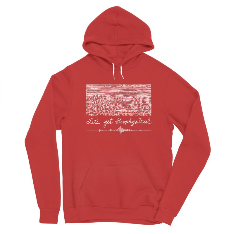 Let's Get Geophysical Men's Pullover Hoody by Tectonic City