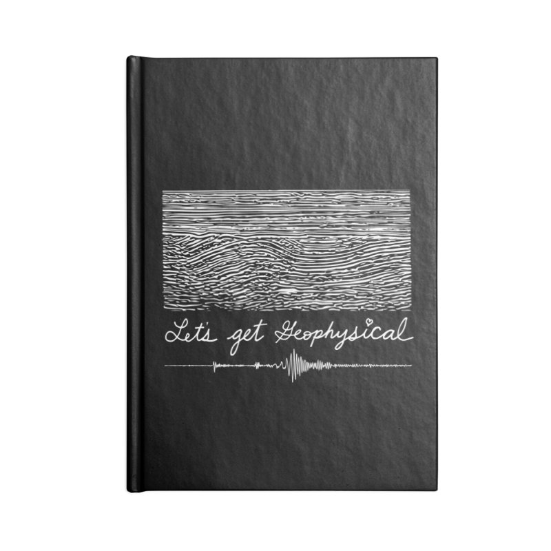 Let's Get Geophysical Accessories Notebook by Tectonic City