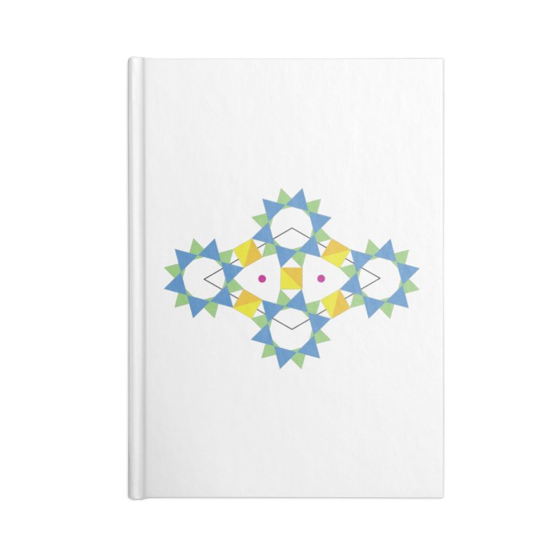 Atomic structure of beryl Accessories Notebook by Tectonic City