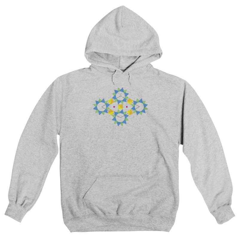 Atomic structure of beryl Women's Pullover Hoody by Tectonic City