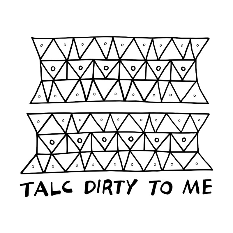 Talc Dirty to Me Home Duvet by Tectonic City