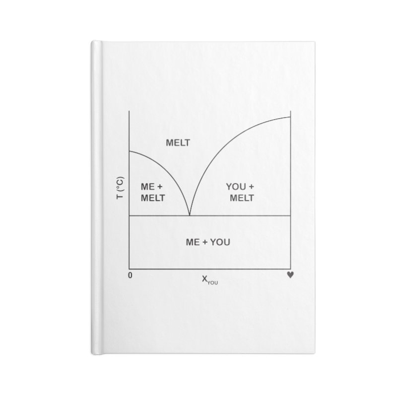 Romantic phase diagram Accessories Notebook by Tectonic City