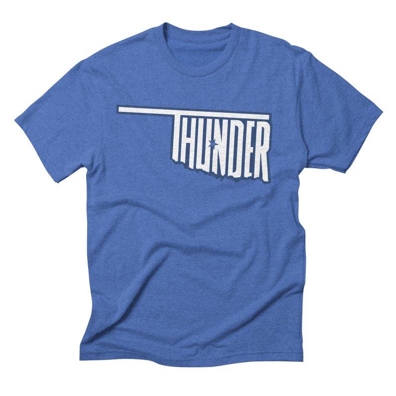 Thunder Men's Triblend T-Shirt by teebag's Artist Shop