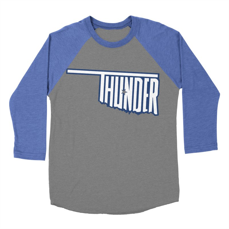 Thunder Women's Baseball Triblend T-Shirt by teebag's Artist Shop