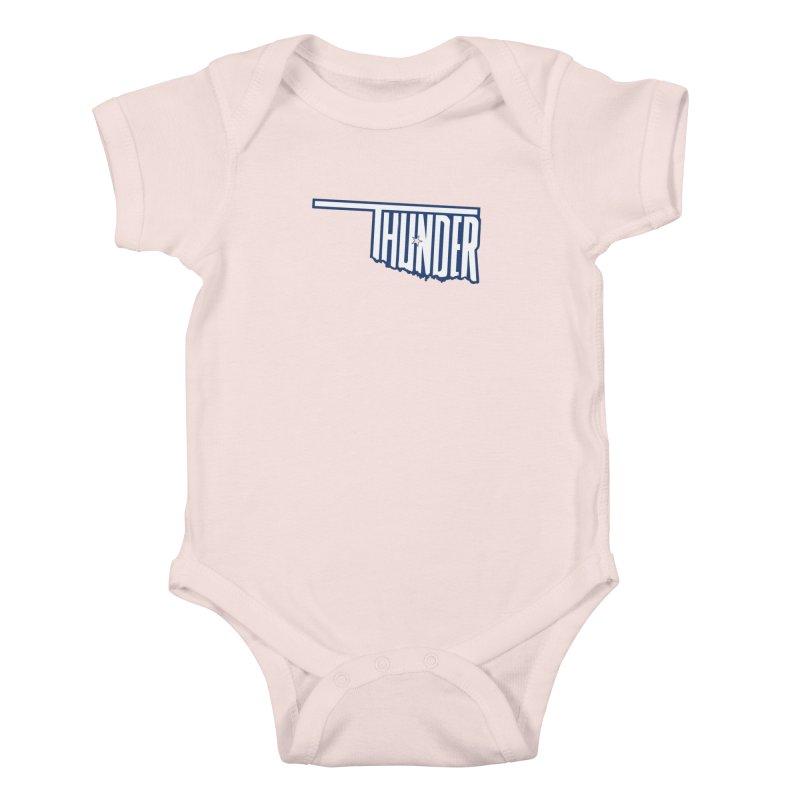 Thunder Kids Baby Bodysuit by teebag's Artist Shop
