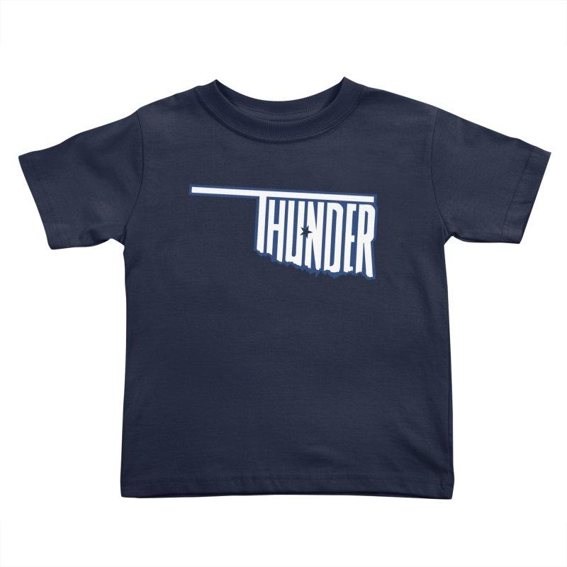 Thunder Kids Toddler T-Shirt by teebag's Artist Shop