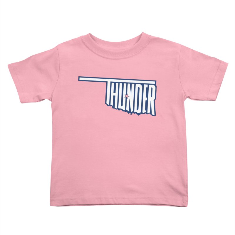 Thunder Kids Toddler T-Shirt by teebag's Artist Shop