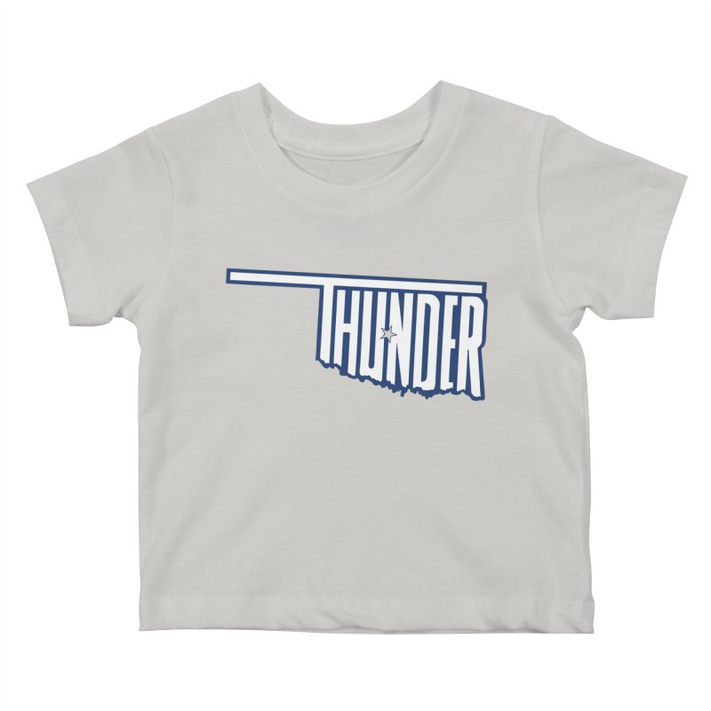 Thunder Kids Baby T-Shirt by teebag's Artist Shop