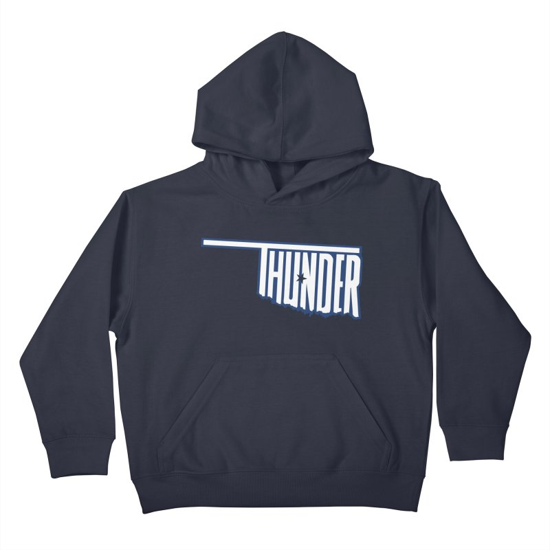 Thunder Kids Pullover Hoody by teebag's Artist Shop
