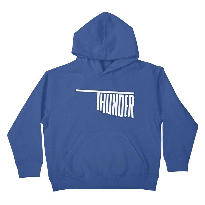 Thunder Kids Pullover Hoody by teebag's Artist Shop