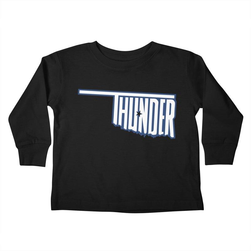 Thunder Kids Toddler Longsleeve T-Shirt by teebag's Artist Shop