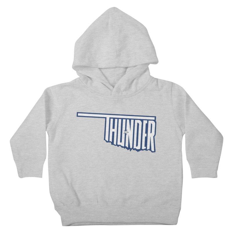 Thunder Kids Toddler Pullover Hoody by teebag's Artist Shop