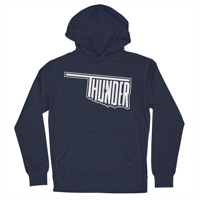 Thunder White Logo Men's Pullover Hoody by teebag's Artist Shop