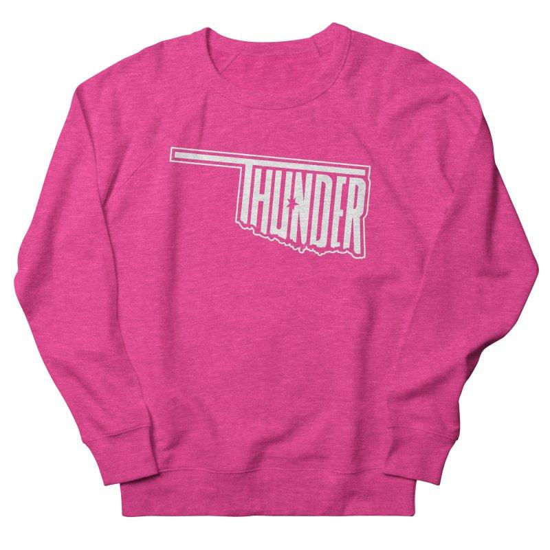 Thunder White Logo Women's Sweatshirt by teebag's Artist Shop