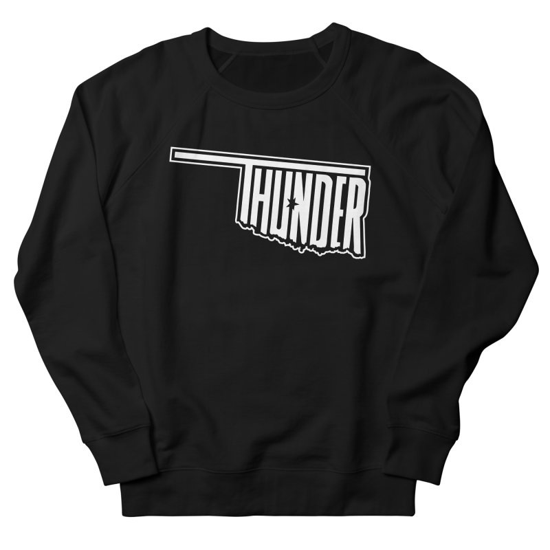 Thunder White Logo Women's Sweatshirt by teebag's Artist Shop