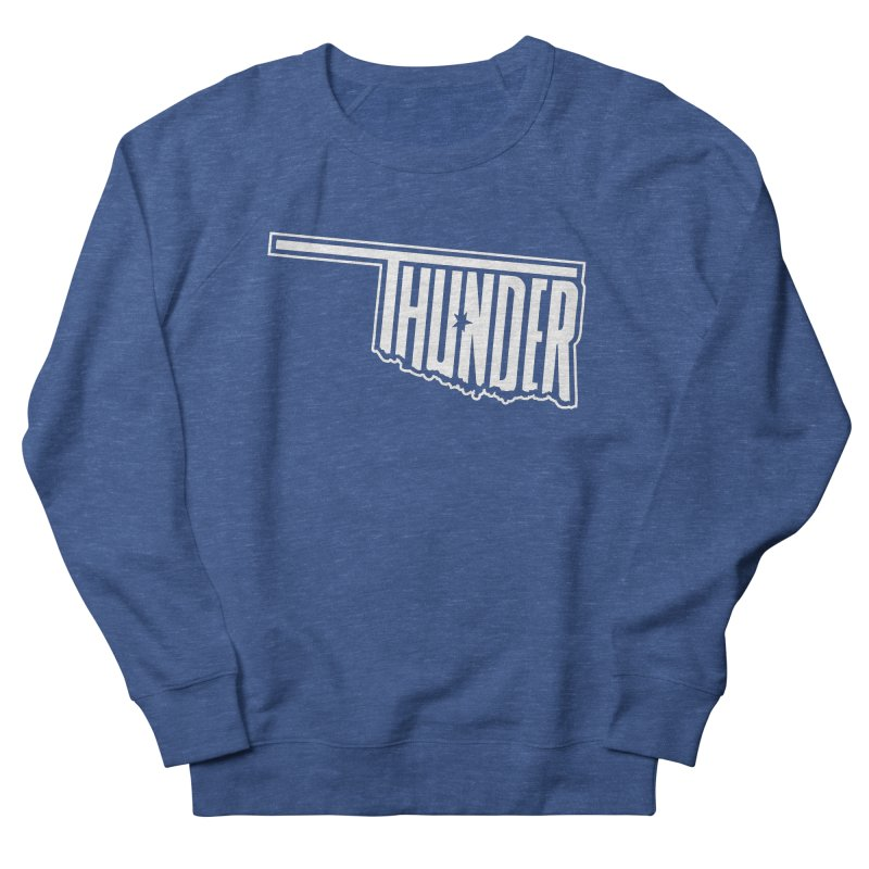Thunder White Logo Men's Sweatshirt by teebag's Artist Shop