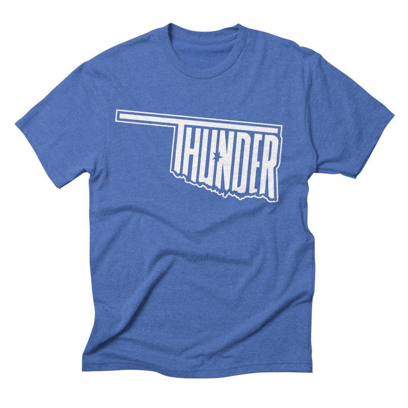 Thunder White Logo   by teebag's Artist Shop