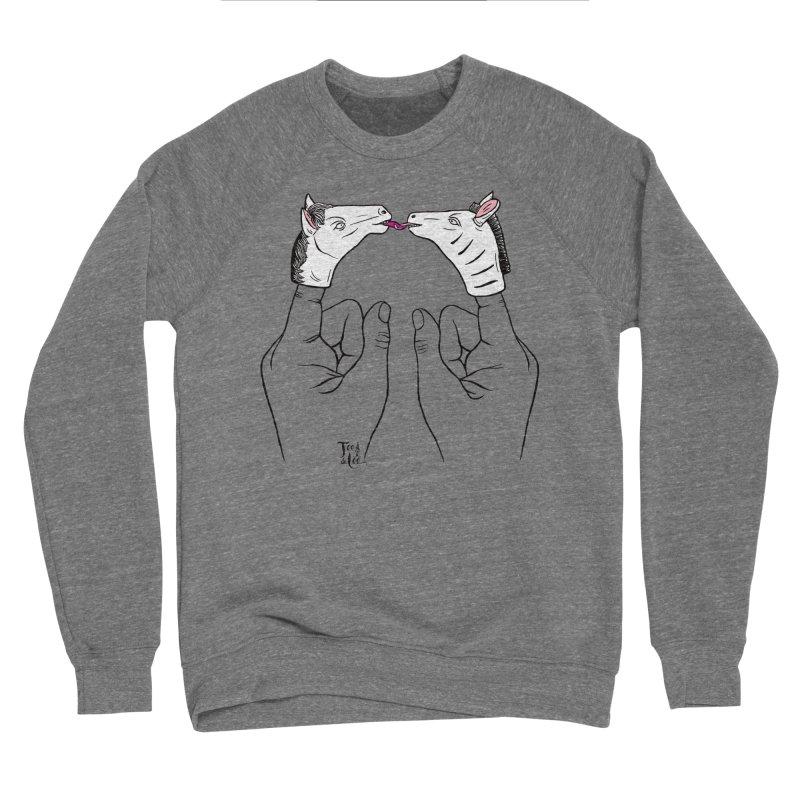 Horse got you tongue? Men's Sweatshirt by TeedeLee