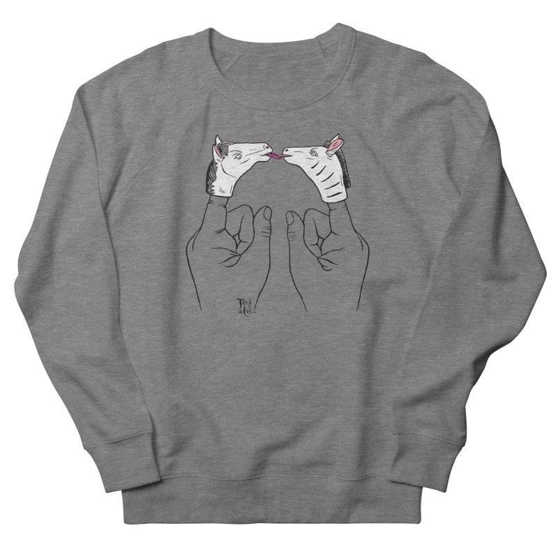 Horse got you tongue? Women's Sweatshirt by TeedeLee