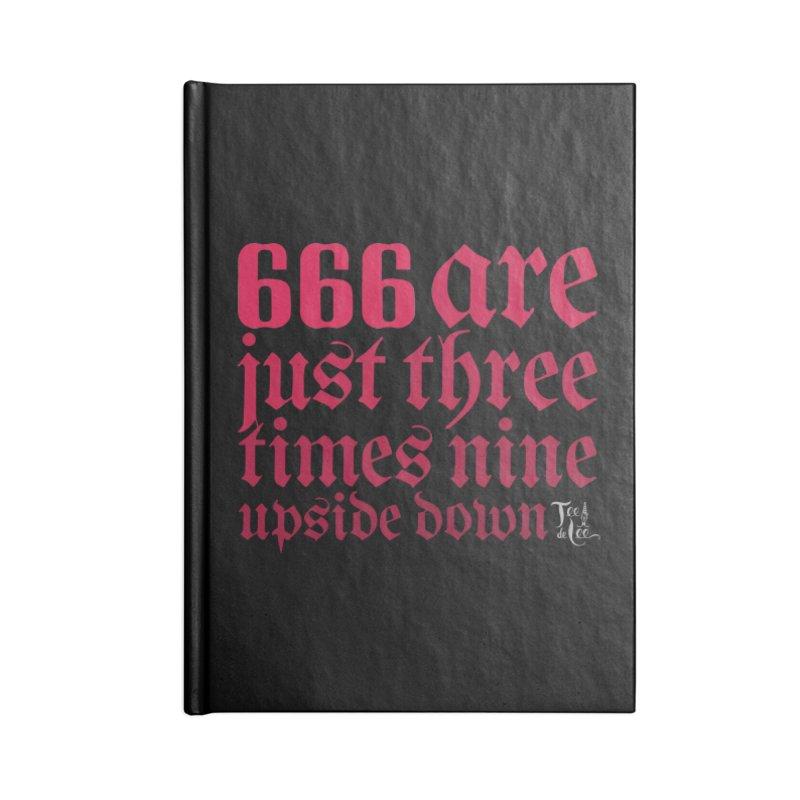 666 Accessories Notebook by TeedeLee