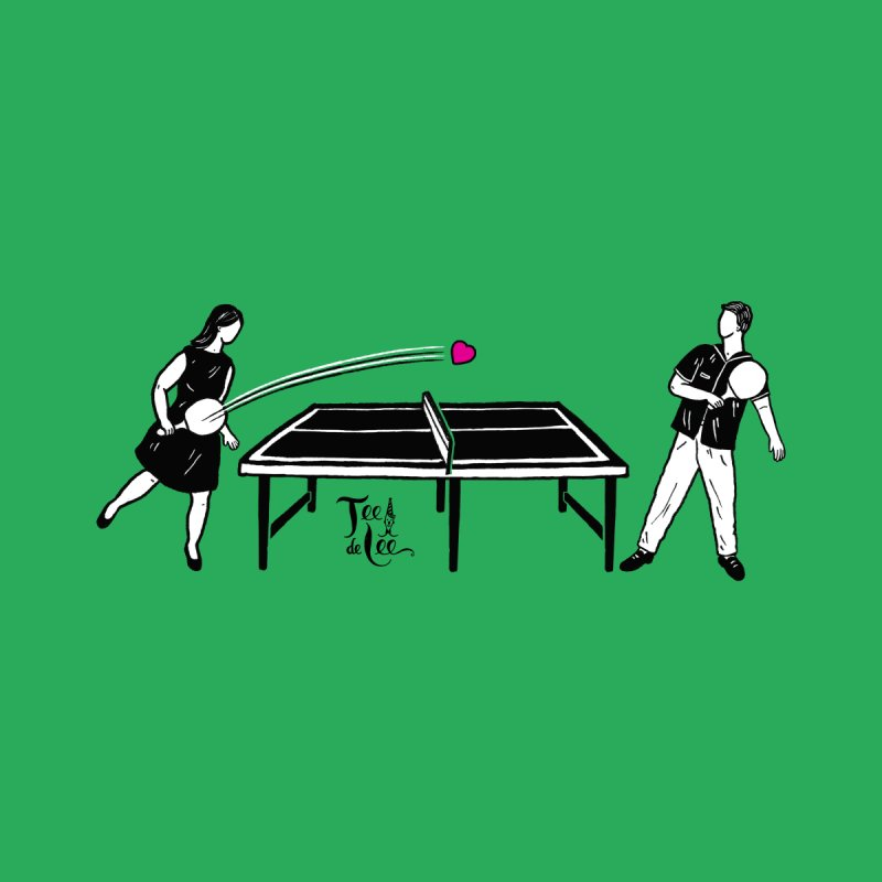 ping pong Women's Sweatshirt by TeedeLee