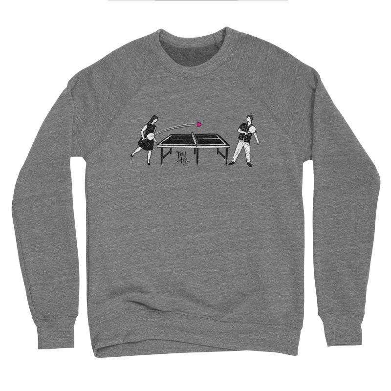 ping pong Men's Sweatshirt by TeedeLee