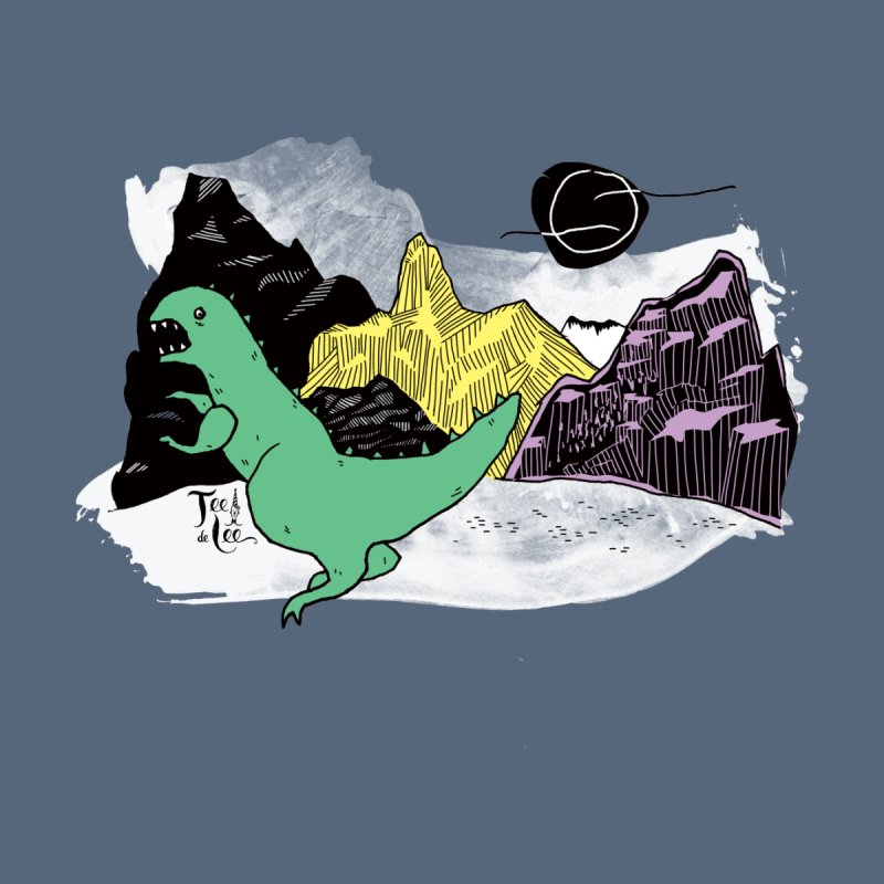 Dinosaur Women's V-Neck by TeedeLee