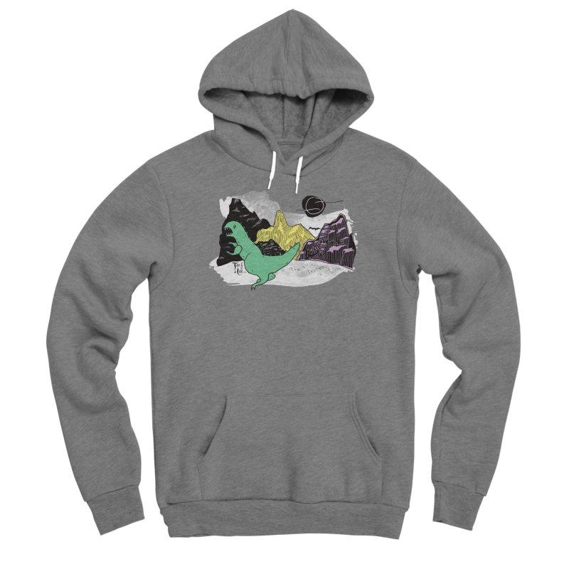 Dinosaur Men's Pullover Hoody by TeedeLee
