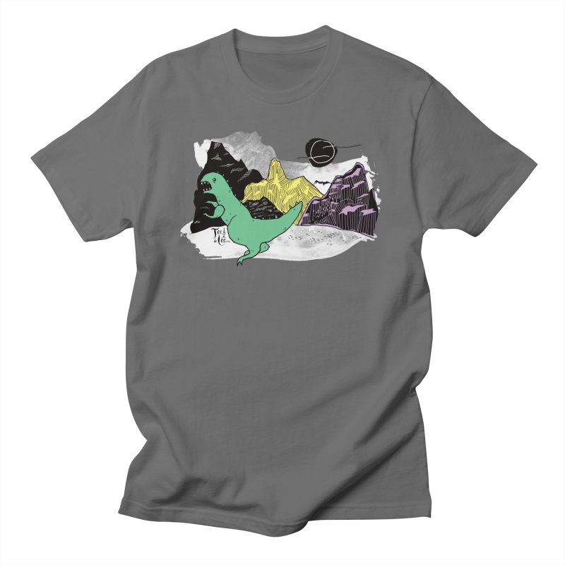 Dinosaur Men's T-Shirt by TeedeLee