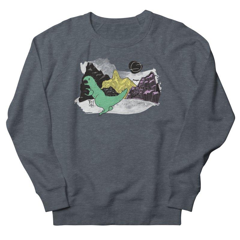 Dinosaur Men's Sweatshirt by TeedeLee