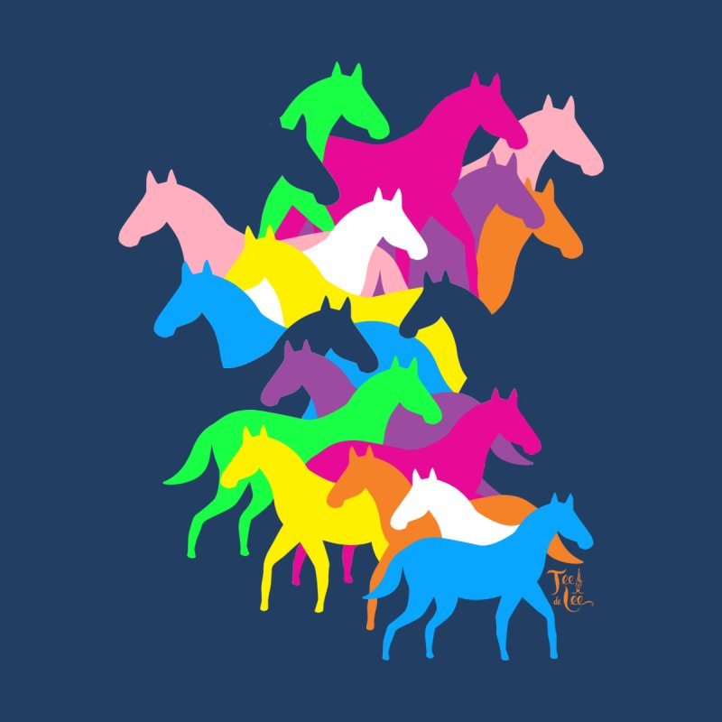 All the wild horses Kids Baby T-Shirt by TeedeLee